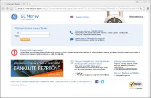 Na podvodném webu po nás chce útočník nejprve zadat jméno a heslo k bankovnímu účtu, ...